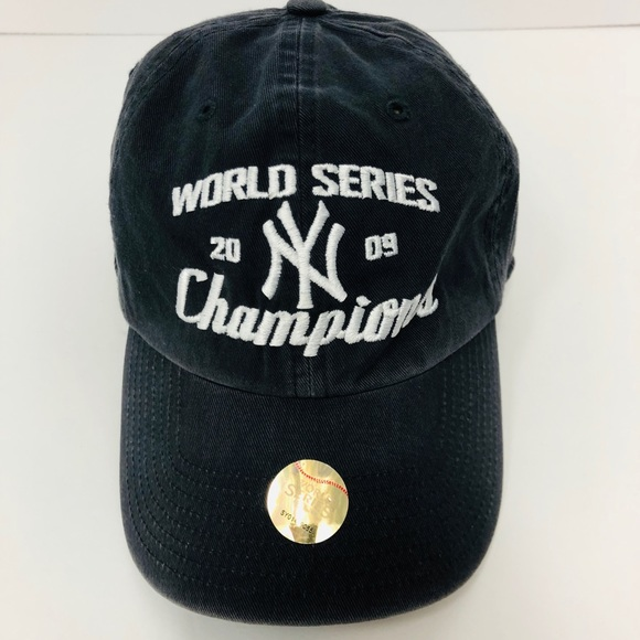 ce46a5689eaa5 NY Yankees World Series 2009 Champions Hat. M 5be837936a0bb727fab6890c